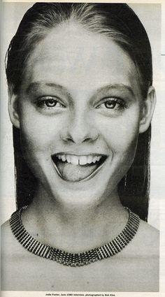 Jodie Foster 1980.
