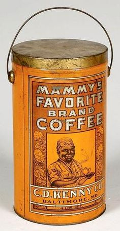 Mammy's Favorite Coffee tin ~ C.D. Kenny & Co. ~ early 1900's          ****