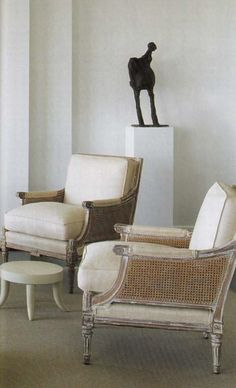 chairs with caning