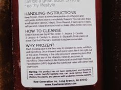 Living, Learning, Eating: Raw Generation Juice Review