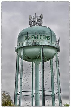 Water Tower - Poolesville, MD | Use to say GO INDIANS