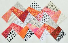 Quilternity's Place: Fractured QAL - Chevron Style