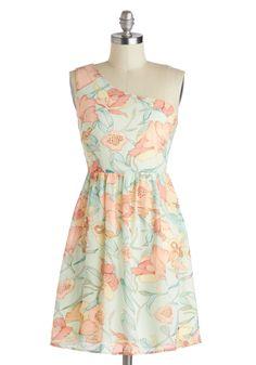 The Latest Bouquets Dress, #ModCloth