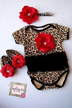 Leopard black tutu o