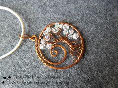 swirl tree, wirewrap, tree of life