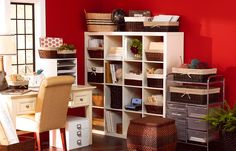 Storage Solution   A Place for Everything   Conquer the clutter with an array of storage and organization solutions, perfect for home or classroom.   Learn more