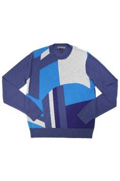 Quinn Moran Intarsia Silk Cashmere Crew Neck | $370 #Quinn #QuinnShop #NYC http://bit.ly/1n46oi4