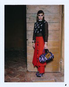 Orient Express| Bambi Northwood-Blyth by Manuela Pavesi for Vogue Japan
