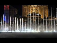 Bellagio fountains set to The Pink Panther Theme by Henry Mancini  |  BombBomb Video Email Marketing Software: www.BombBomb.com