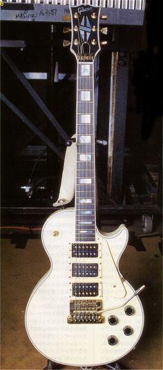 Steve Clark | Gibson Custom Les Paul Custom 3 Pickup.