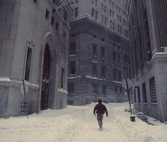 NY after a big snow storm.