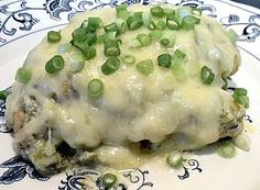 Low Carb Green Enchilada Chicken