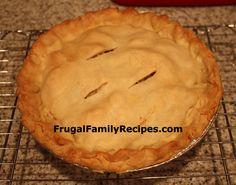 FrugalFamilyRecipes.com...What's For DINNER?!: Moravian Chicken Pie Recipe