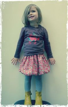 Bubble Skirt Tutorial with Free Pattern | Sew Mama Sew |