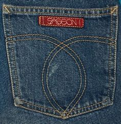 Sassoon jeans...yesterday's Lucky jeans