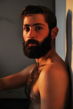 Photography by Max Letek www.blackprojection.com - ' Men With Beards' Model :Giulio Aprin