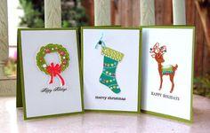 #Cricut Holiday cards