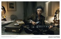 LV Core Values Campaign - Keith Richards