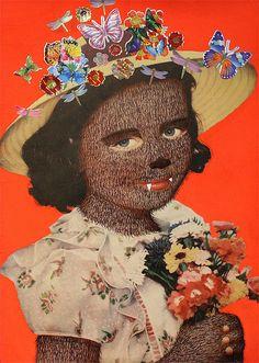 Alejandra Villasmil, Lobita, 2008 alejandra villasmil, lobita, interest collag, contemporari collag, collag imag
