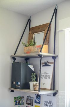 DIY Rope Hanging She
