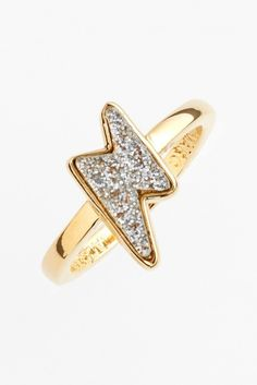 MARC BY MARC JACOBS Lightning Bolt Ring