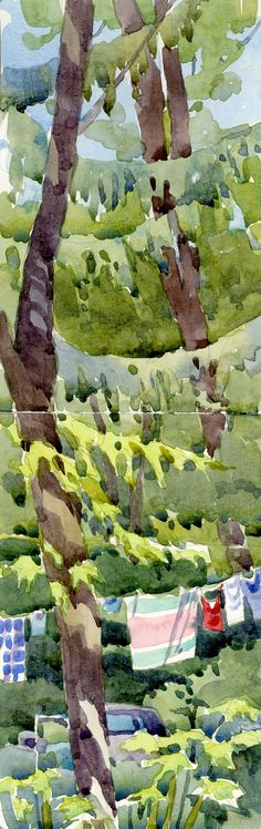 If you like plein aire sketching this is a great blog!