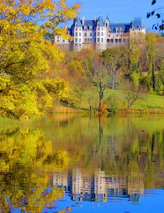 Fall at Biltmore House in Asheville NC