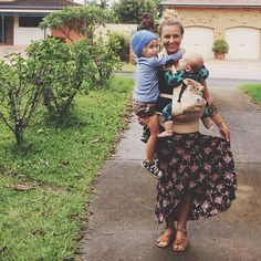 baby wearing, baby carriers