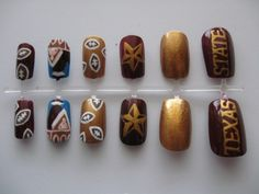 Texas State University Nails