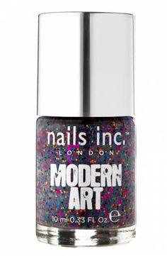 Nails Inc - Modern Art - Bankside (Red, Gold and Black)