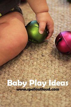 Baby play activities from @maureenspell  #ece