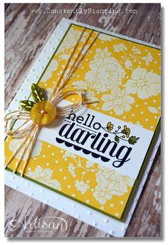 Hello Darling stamp set