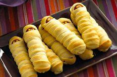 Hotdog mummies... So cute!
