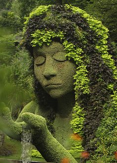 visitheworld:  The Earth Goddess at Atlanta Botanical Garden / USA (by Steven W Lum).