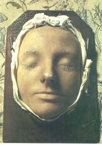 The Death Mask of Mary, Queen of Scots, amazing to see her actual face