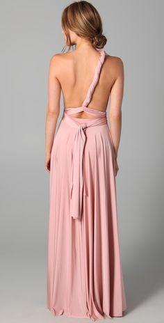 Shoulder chic gown