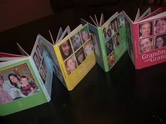 DIY board books with family photos