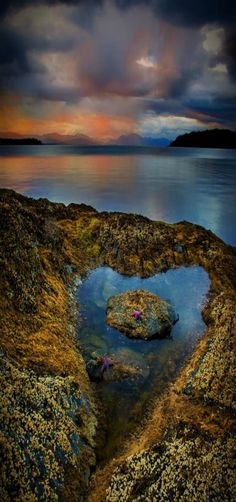 Ocean, Ketchikan, Alaska -- by Carlos Rojas