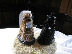 dalek wedding toppers