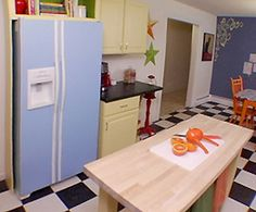Fridge Fronts Magnetic And Vinyl Appliance Covers On