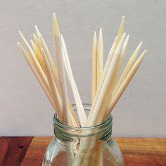 Bone double-pointed needles | Fringe Supply Co.