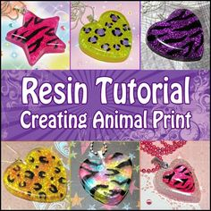 Resin Jewelry Ideas | HOW TO MAKE RESIN JEWELRY - JEWELRY