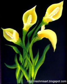 calla+lillies+onestroke1.jpg (257×320)