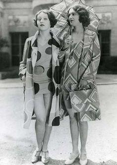 1930s, Sonia Delaunay's swimwear - constructivism