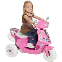 Disney Princess Scooter 6-Volt Battery-Powered Ride-On