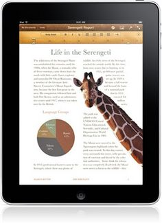 Educational iPad apps.