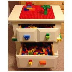 DIY Lego Storage Solutions.