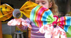 butterfli puppet, hand puppets, butterfli hand, bug, preschool idea, bee butterfli, handpuppet, hand butterfli, kid