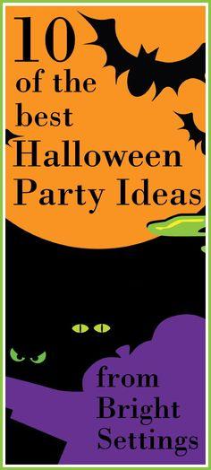10 Halloween Party Ideas