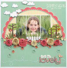 Isn't She Lovely *My Little Shoebox* - Scrapbook.com